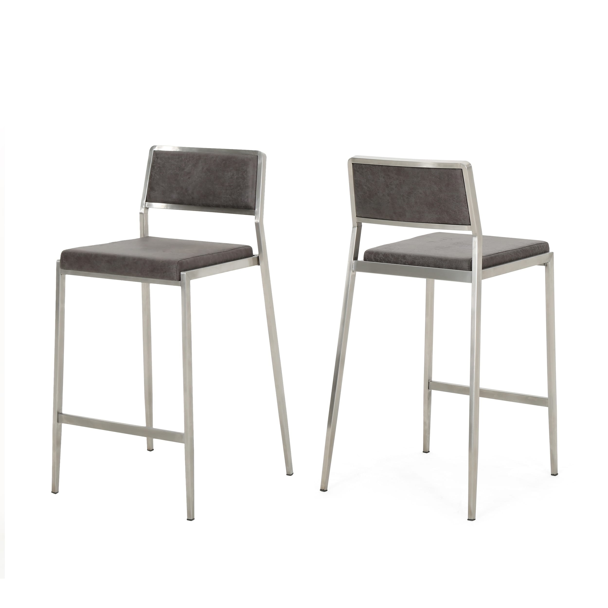 Prime Bridle 26 In Microfiber Counter Stool By Christopher Knight Home Set Of 2 Unemploymentrelief Wooden Chair Designs For Living Room Unemploymentrelieforg