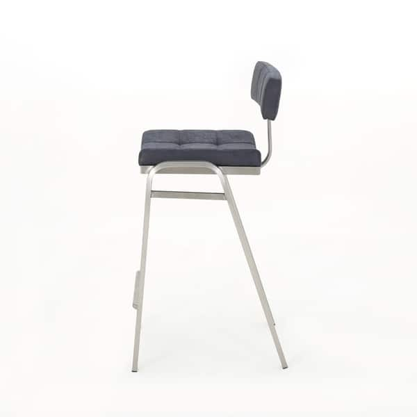 Fine Shop Batz 25 5 In Microfiber Counter Stool By Christopher Machost Co Dining Chair Design Ideas Machostcouk