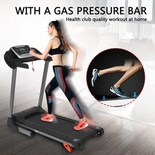 Electric Treadmill Foldable Running Jogging Fitness Machine