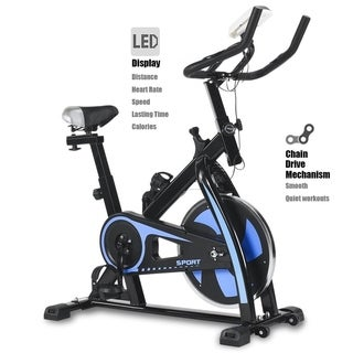 Stationary Exercise Bicycle Cycling Cardio Health Indoor Home Trainer Bike