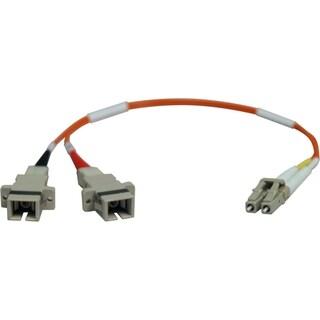 Tripp Lite 0.3M Duplex Multimode Fiber Optic 62.5/125 Adapter LC/SC M