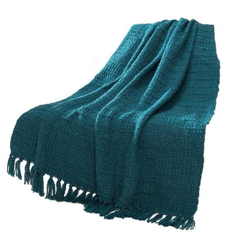 Carson Carrington Uusikaupunki Knit Throw Blanket