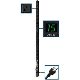 Tripp Lite PDU Metered 120V 15A 5-15R 16 Outlet 5-15P Vertical 0URM