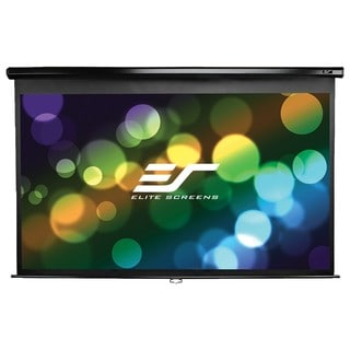 Elite Screens Manual Pull Down Projection Screen