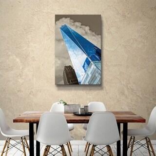 ArtWall Daniel Stein 'One World Trade Center' Gallery Wrapped Canvas - Grey