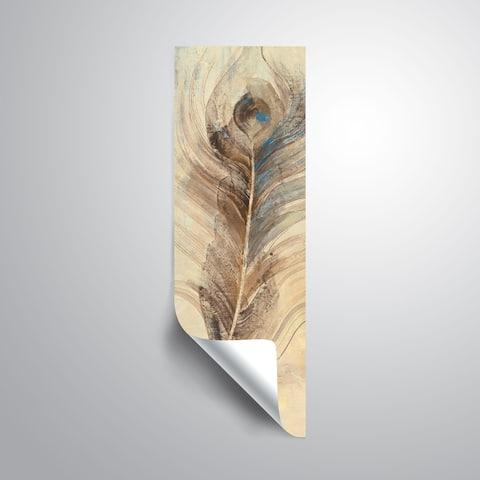 ArtWall Albena Hristova 'Feather Study-Single' Removable Wall Art