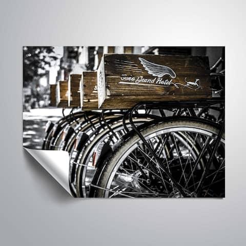 ArtWall Richard James 'Soho Bike' Removable Wall Art