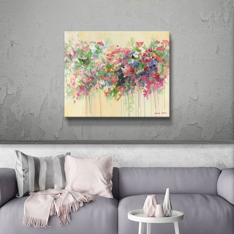 ArtWall Nathan Neven 'Allure' Gallery Wrapped Canvas - Pink