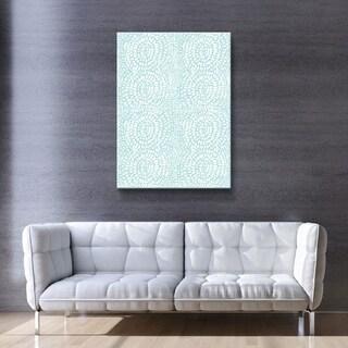 ArtWall Delores Orridge Naskrent 'Sunstroke' Gallery Wrapped Canvas - White