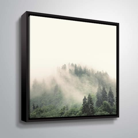 ArtWall Nicholas Bell 'Smoky Mountains' Gallery Wrapped Canvas - Grey