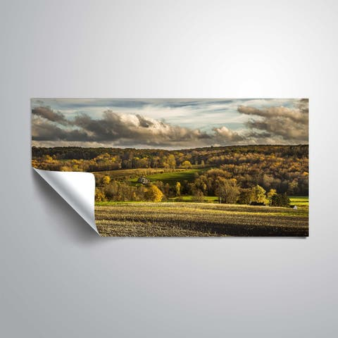 ArtWall Richard James 'Autumn in CT' Removable Wall Art