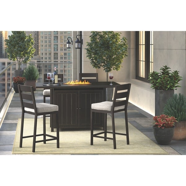 Bar Table Sets For Sale: Shop Perrymount 5-piece Outdoor Bar Table Set