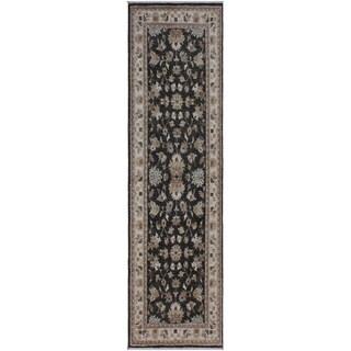 "Ziegler Peshawar Myles Gray/Ivory Hand-knotted Wool Rug - 2'8 x 7'9 - 2'8"" x 7'9"""