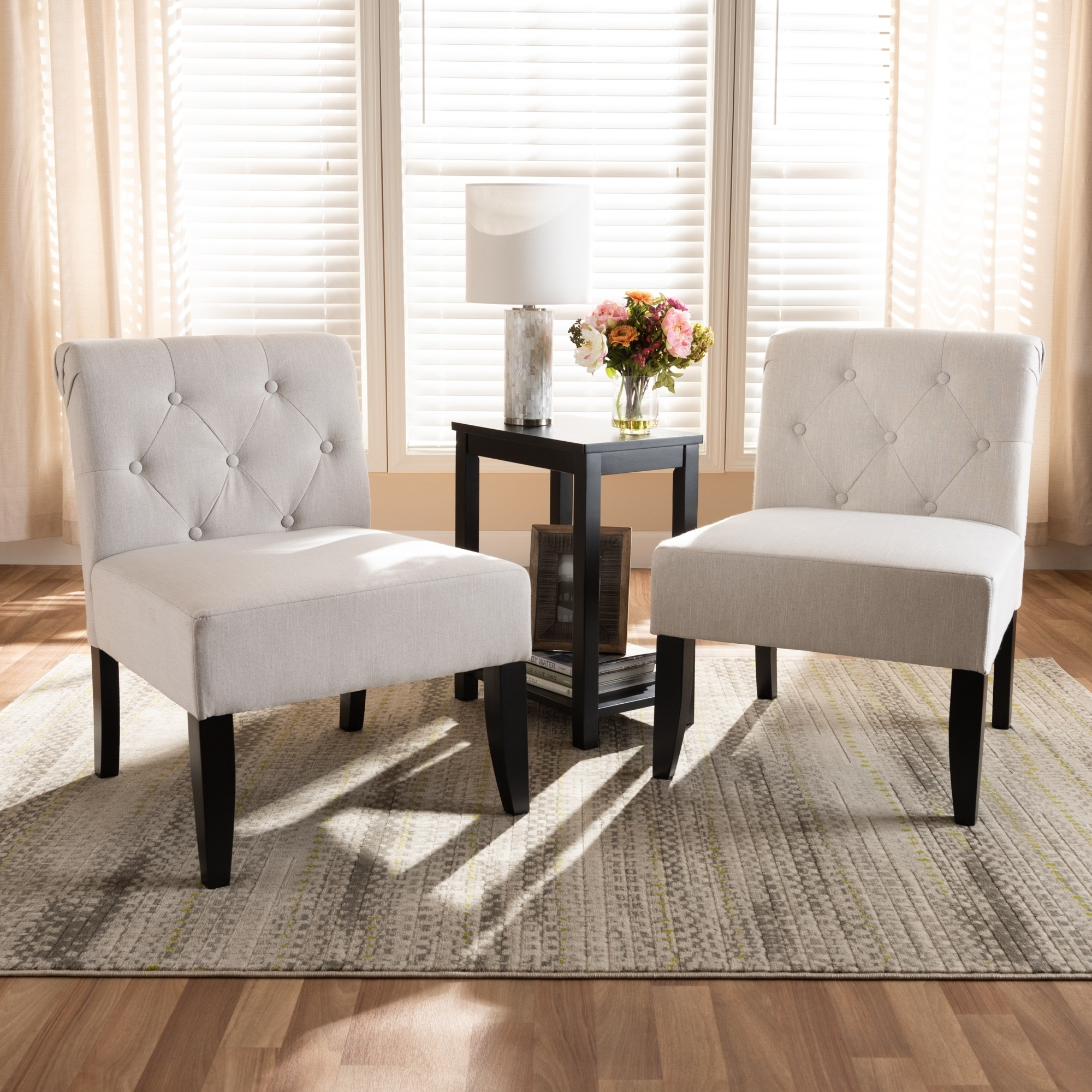 Transitional 3 Piece Accent Chair And Table Set On Sale Overstock 26409998