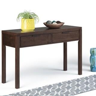"""Carbon Loft Ainscough Brown Wood Console Table - 48"""" W x 16"""" D x 30"""" H"""