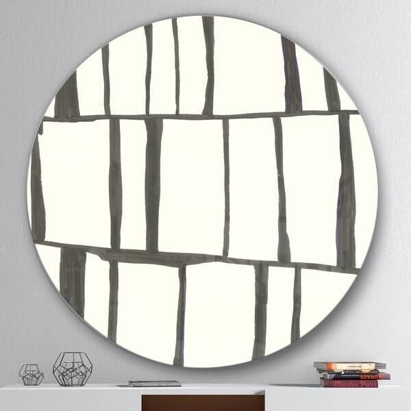 Shop Designart Minimalist Black And White I Geometric