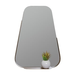 Esther Gold Shelf Wall Mirror