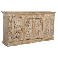 Crescent Collection - 4 Door Carved Sideboard