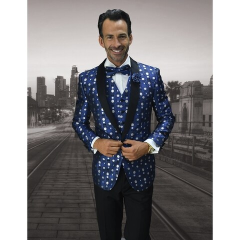 Statement Bellagio13 Royal Tuxedo with matching bow tie