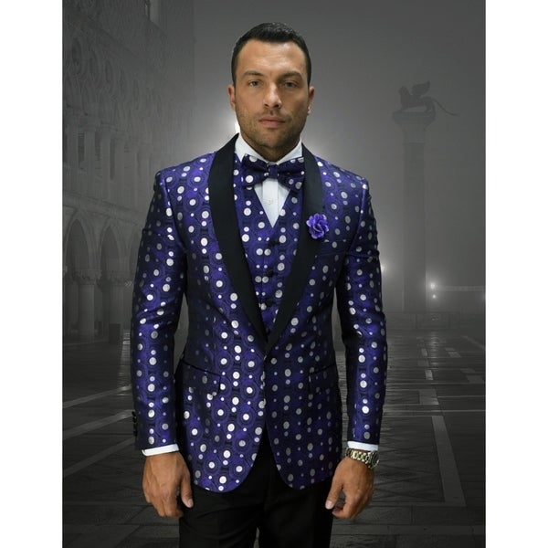 Statement Bellagio13 URPLETuxedo with matching bow tie