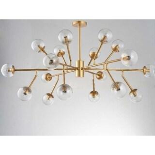 Yvaine 18-Light Sputnik Chandelier - Gold