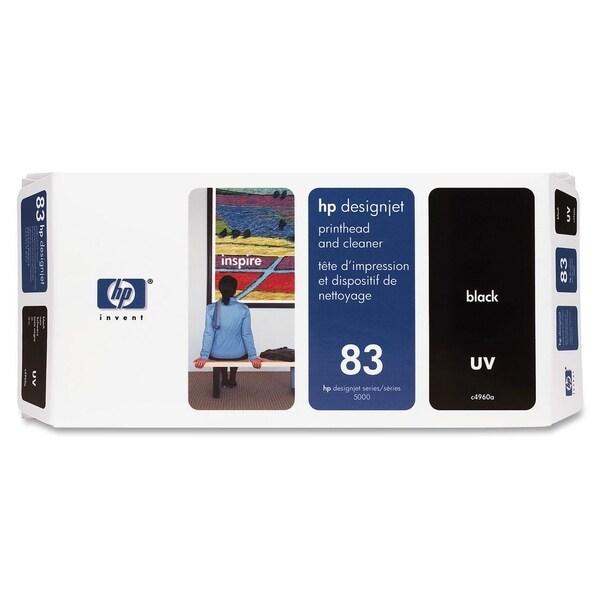 HP 83 Black Printhead/Cleaner Cartridge