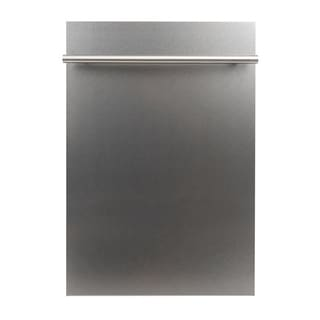 24 in. Top Control Dishwasher in Snow Finished Stainless Steel