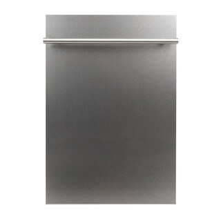 18 in. Top Control Dishwasher in Snow Finished Stainless Steel
