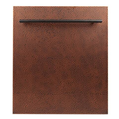 24 in. Top Control Dishwasher in Hand-Hammered Copper