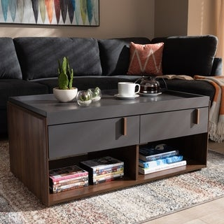 Link to Contemporary 2-Drawer Coffee Table Similar Items in Living Room Furniture