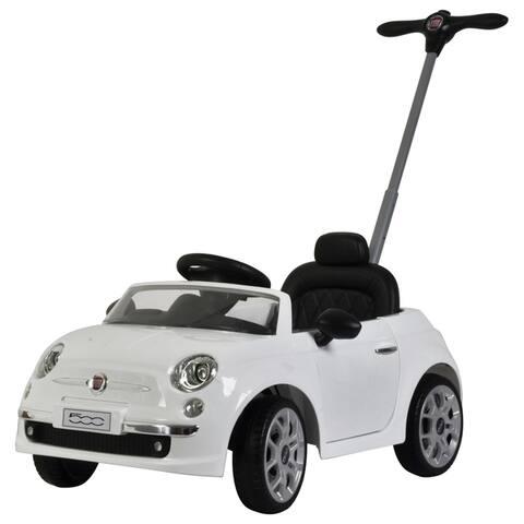 Fiat 500 push car White - N/A