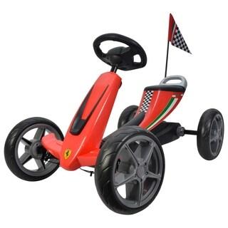Ferrari Pedal Go Kart Red