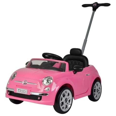 Fiat 500 push car Pink - N/A