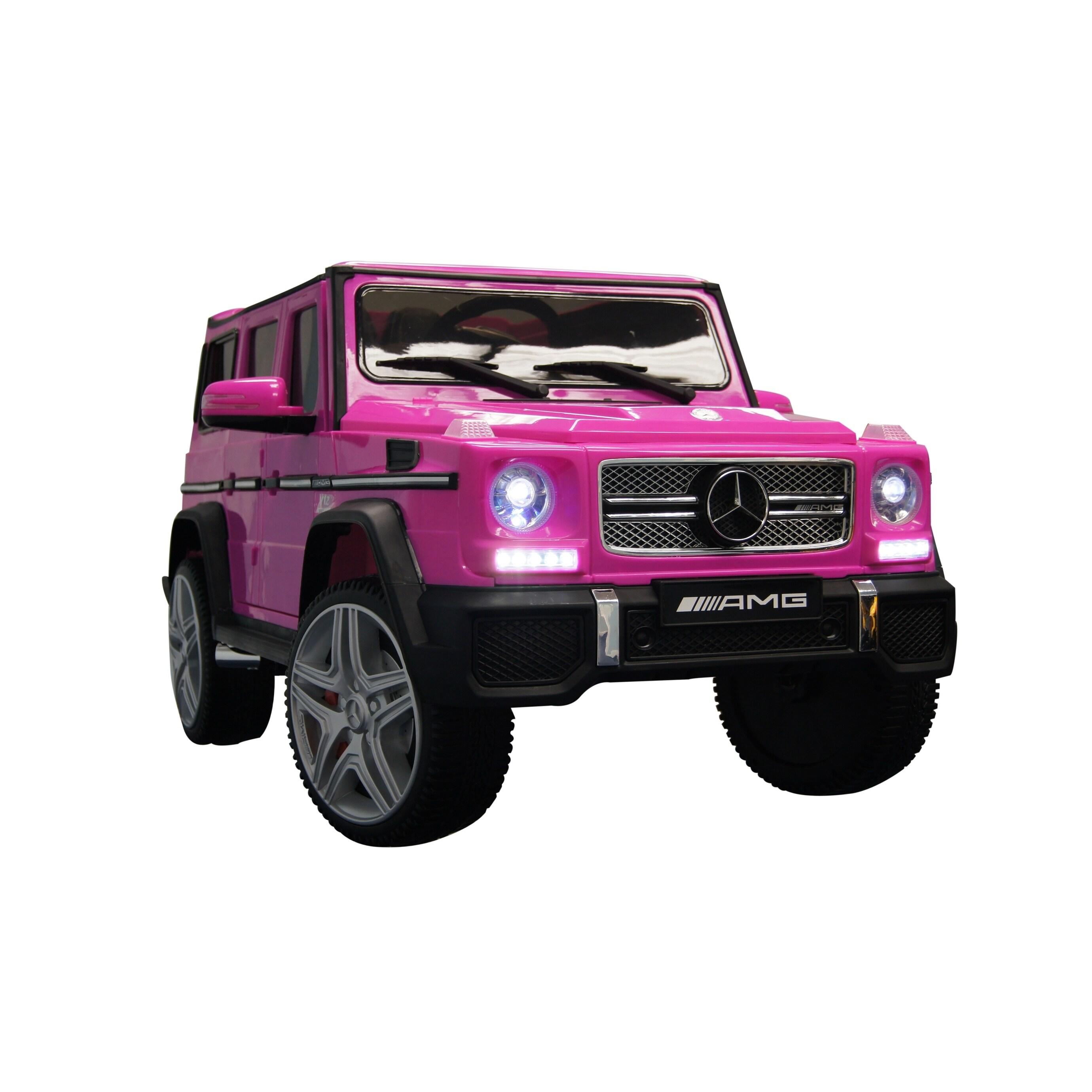Mercedes G65 12v Pink Overstock 26414665