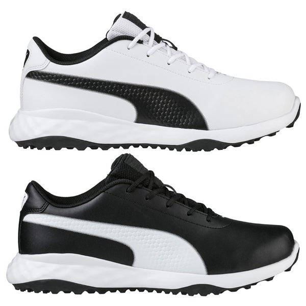 74b1a98d4d8b Shop PUMA Grip Fusion Classic Spikeless Golf Shoes - Free Shipping Today -  Overstock - 26414668