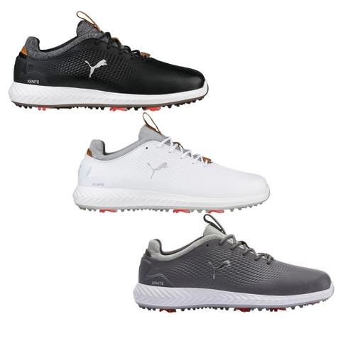 edae254023f3 PUMA Ignite PWRADAPT Leather Golf Shoes
