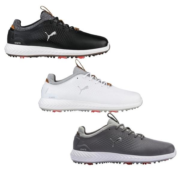 uk availability 763b2 75dd1 Shop PUMA Ignite PWRADAPT Leather Golf Shoes - On Sale - Free ...