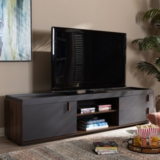 Contemporary 2-Drawer TV Stand
