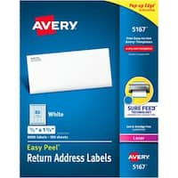 Avery&reg Easy Peel® Return Address Labels with Sure Feed™