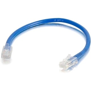 3ft Cat5E Non-Booted Unshielded (UTP) Network Patch Cable (25pk) - Bl