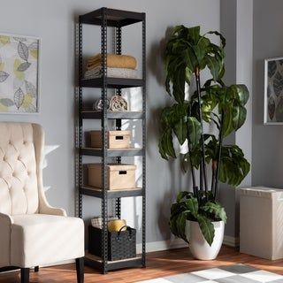 Contemporary 5-Shelf Closet Storage Racking Organizer