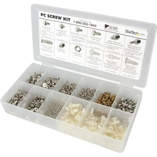 StarTech.com Deluxe Assortment PC Screw Kit - Screw Nuts and Standoff