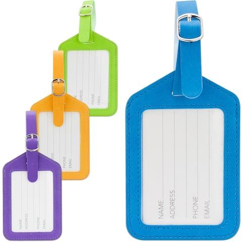 Miami CarryOn Luggage Tags / ID Bag Tags - Set of 2