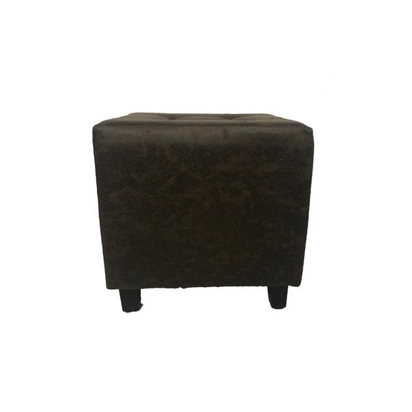 Incredible Shop Copper Grove Novska Antique Square Ottoman Free Onthecornerstone Fun Painted Chair Ideas Images Onthecornerstoneorg