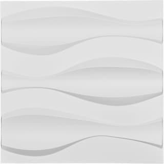 "19 5/8""W x 19 5/8""H Thompson EnduraWall Decorative 3D Wall Panel, White"
