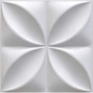 "19 5/8""W x 19 5/8""H Alexa EnduraWall Decorative 3D Wall Panel, White"