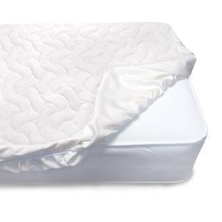 Serta Sertapedic Crib Mattress Pad Cover/Protector withNanotex Stain Repel and Release