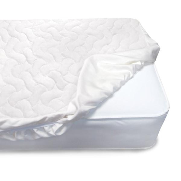 Shop Serta Sertapedic Crib Mattress Pad Cover/Protector ...