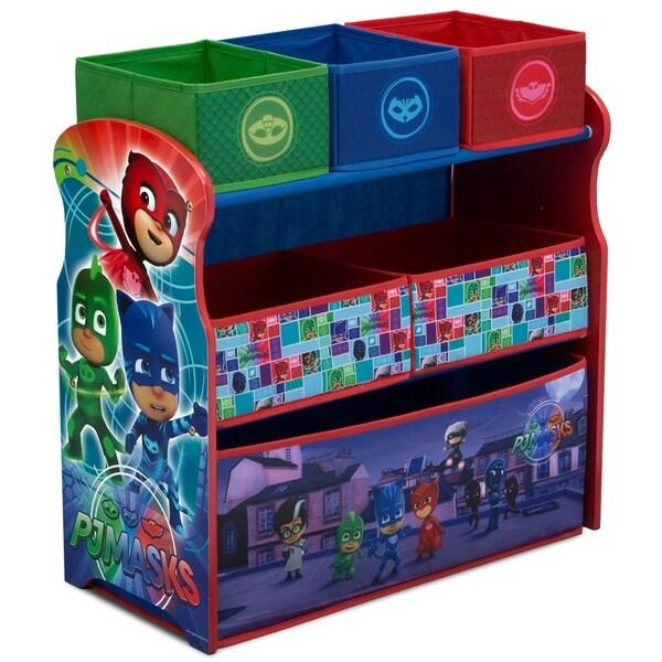 PJ Masks Multi-Bin Toy Organizer
