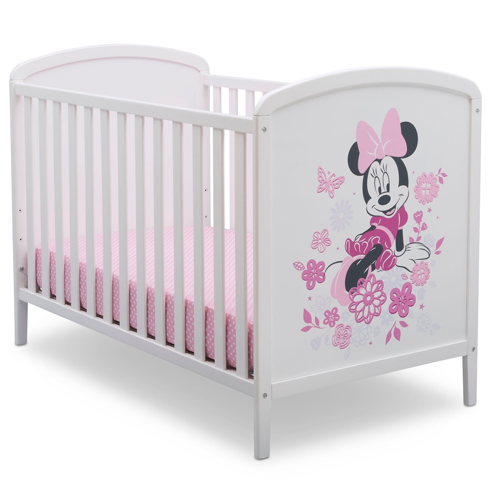 Disney Minnie Mouse 3-in-1 Convertible Baby Crib by Delta Children - Modern  & Contemporary